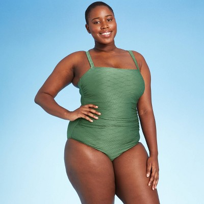 Women's Basket Weave Classic One Piece Swimsuit - Kona Sol™