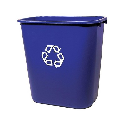 Brighton Plastic Recycling Container 7 Gal. Blue (22174/19207) CW56432