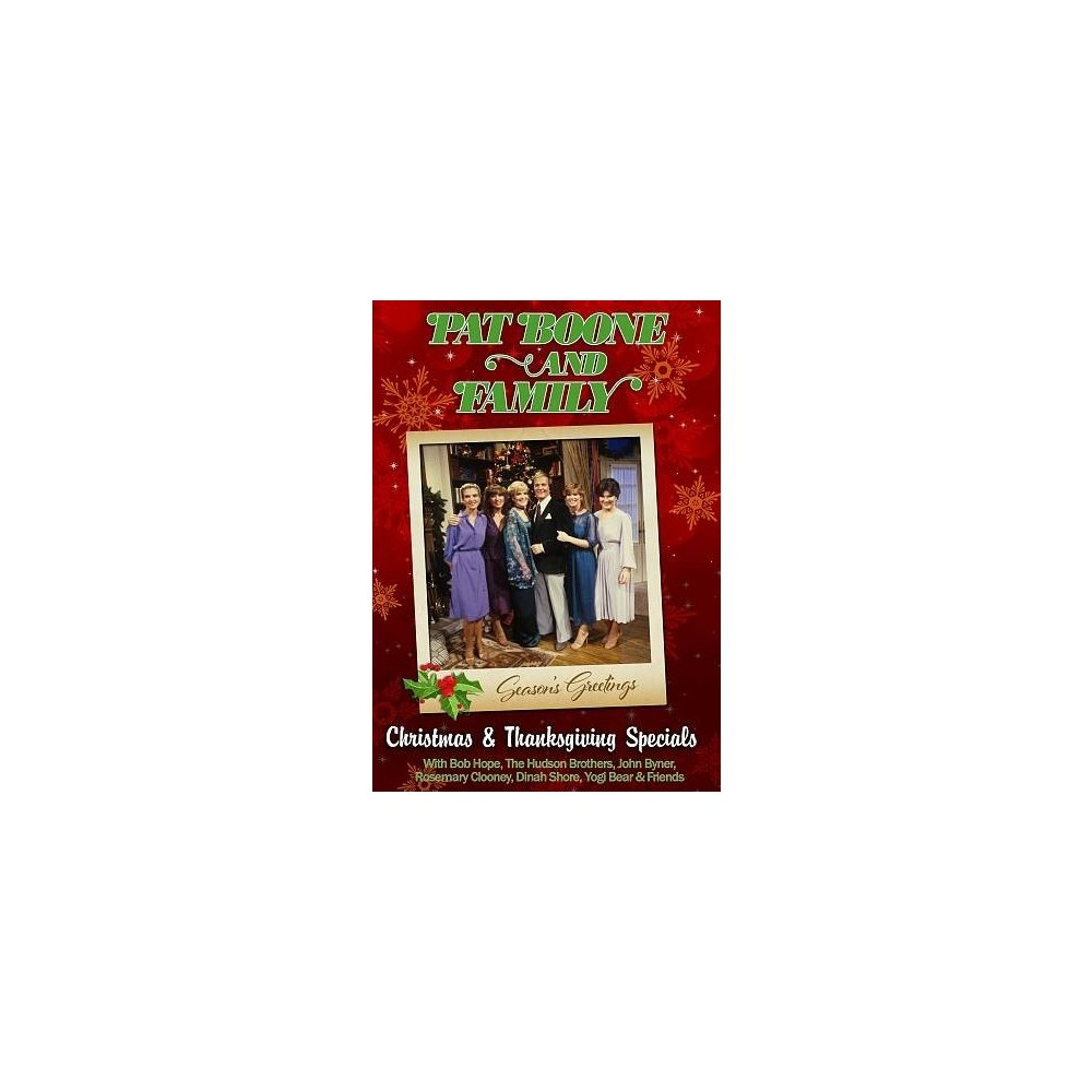 Pat Boone & Family:Christmas & Thanks (Dvd)