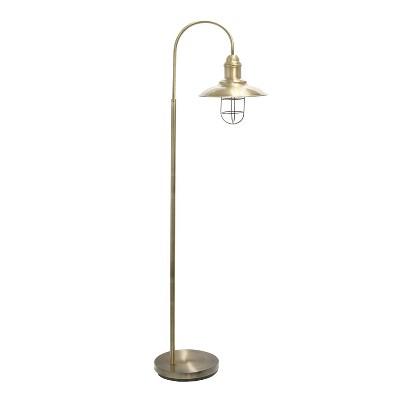 Floor Lamp Antique Brass - Lalia Home