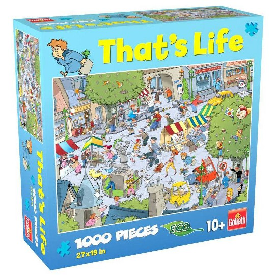 Goliath That's Life: The Village Puzzle 1000pc image number null