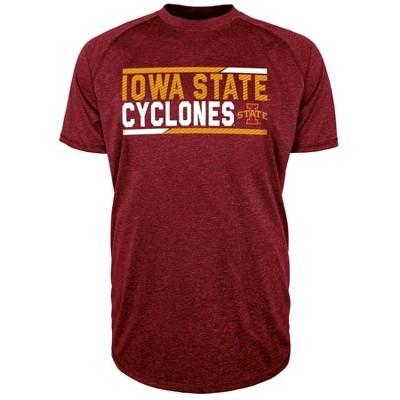 NCAA Iowa State Cyclones Men's Short Sleeve Performance T-Shirt