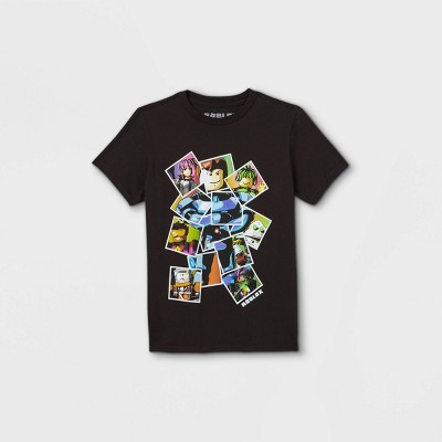 Boys' Roblox Short Sleeve T-Shirt - Black