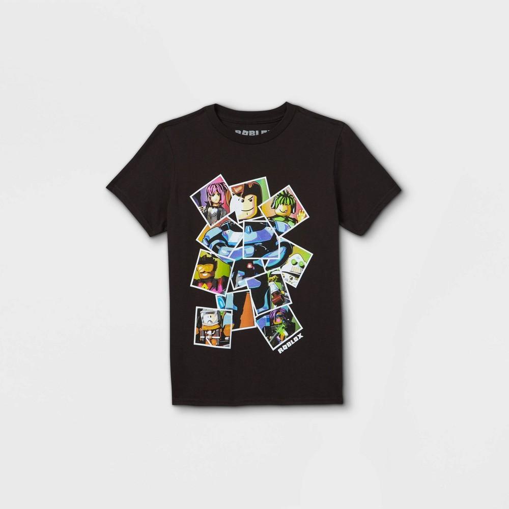 Boys 39 Roblox Short Sleeve T Shirt Black Xs