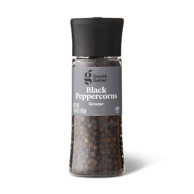 Black Peppercorn Grinder - 1.58oz - Good & Gather™
