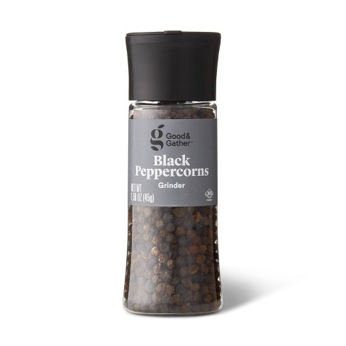 Black Peppercorn Grinder - 1.58oz - Good & Gather™ - image 1 of 2