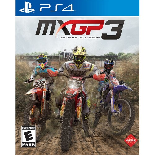 MXGP 3: The Official Motocross Videogame PlayStation 4
