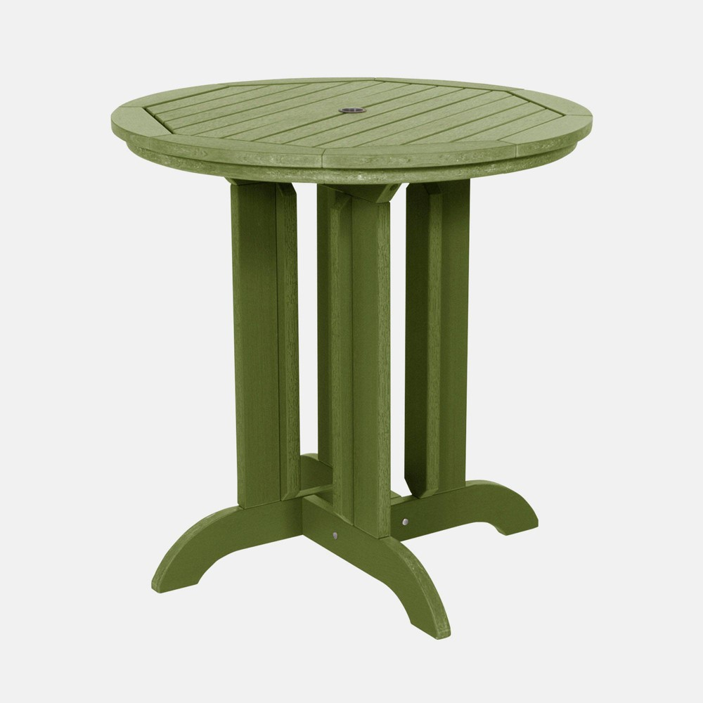 """Image of """"36"""""""" Round Counter Patio Dining Table Dried Sage - highwood, Dried Green"""""""