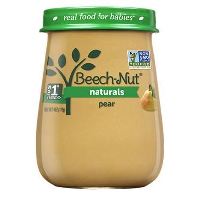 Beech-Nut Naturals Pears Baby Food Jar - 4oz