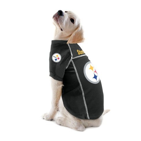 449588fc863 Pittsburgh Steelers Little Earth Pet Football Jersey - Black XS   Target