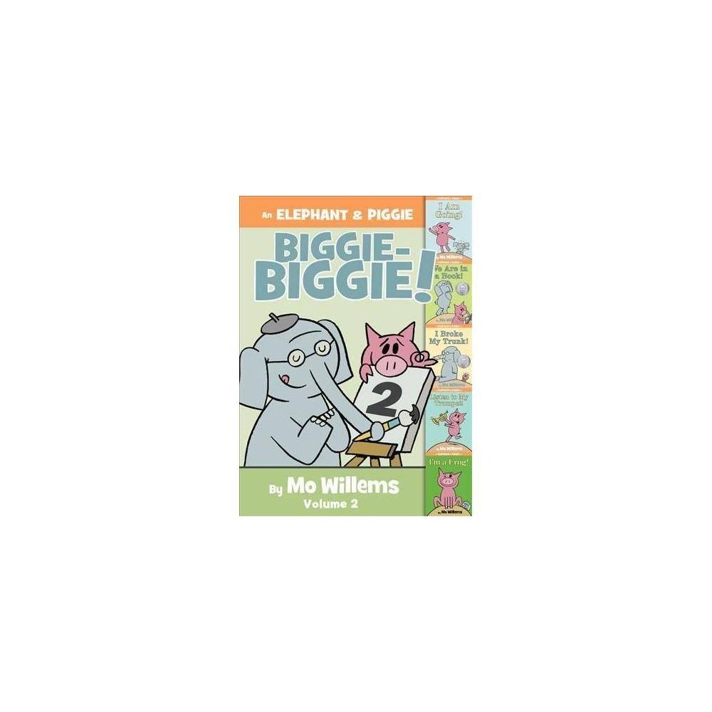 An Elephant & Piggie Biggie! - (Elephant and Piggie Book) by Mo Willems (Hardcover)