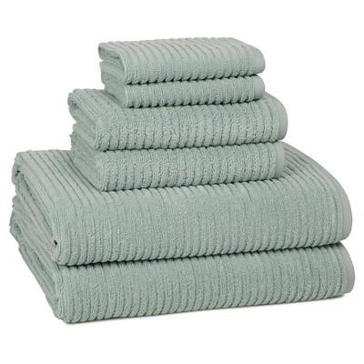 Urbane Bath Towel Set Spa Blue - Kassatex