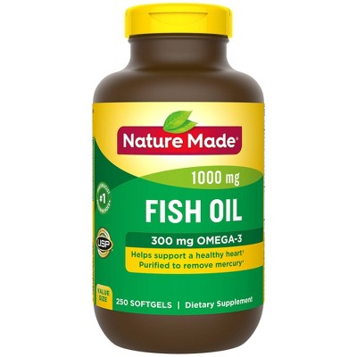 Vitamins & Supplements: Nature Made Fish Oil