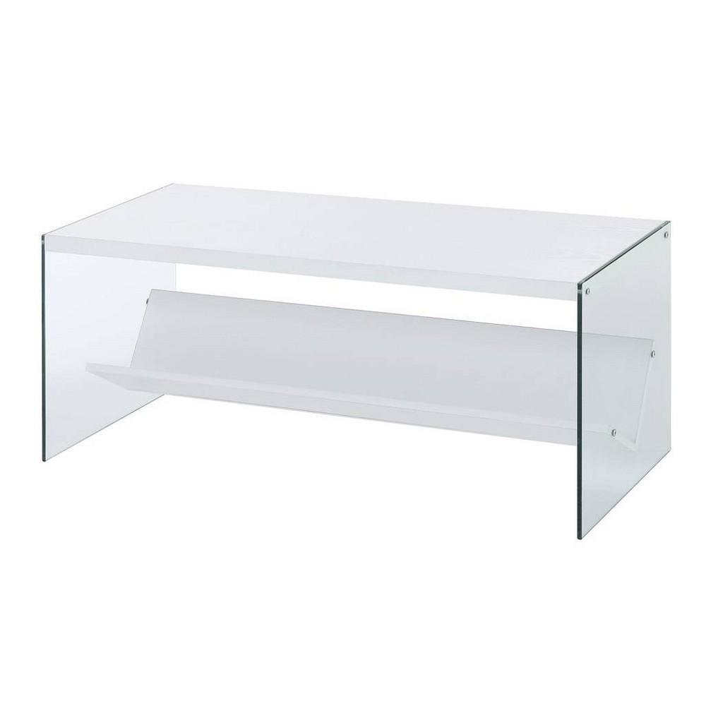 Soho Coffee Table White - Johar Furniture Soho Coffee Table White - Johar Furniture