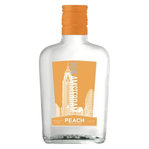 New Amsterdam Peach Flavored Vodka - 375ml Bottle - image 1 of 1
