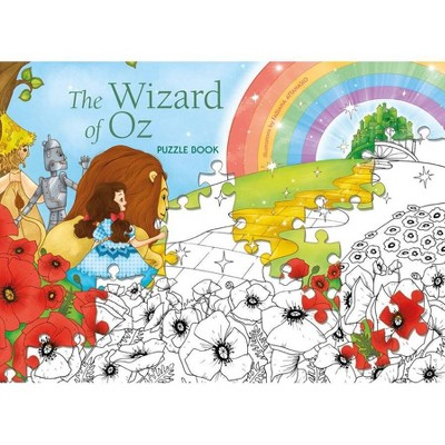 The Wizard of Oz Puzzle Book - (Hardcover)