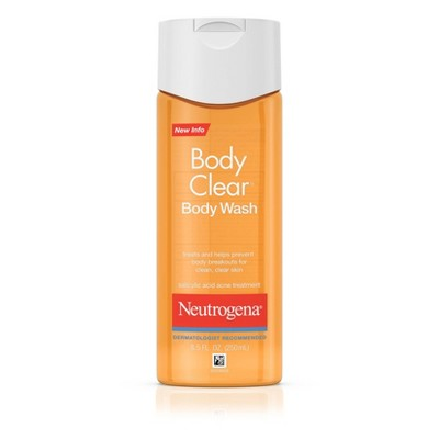 Body Washes & Gels: Neutrogena Body Clear Body Wash