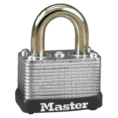 "Master Lock Lock 1Pack 1 1/2"" Steel"