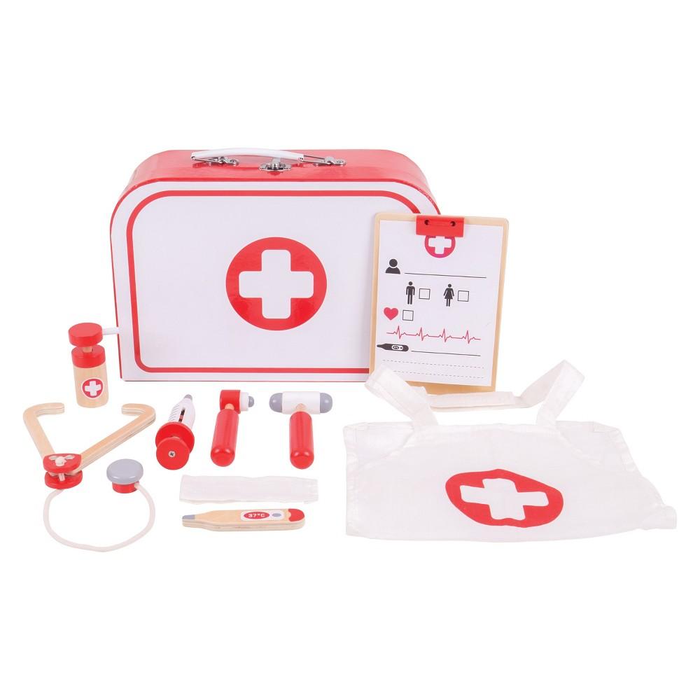Bigjigs Toys Doctors Kit, play medical toys
