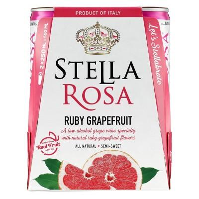 Stella Rosa Ruby Grapefruit Wine - 2pk/250ml Cans