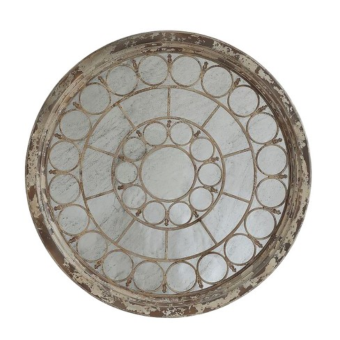 Round Antique Mirror - 3R Studios - image 1 of 1