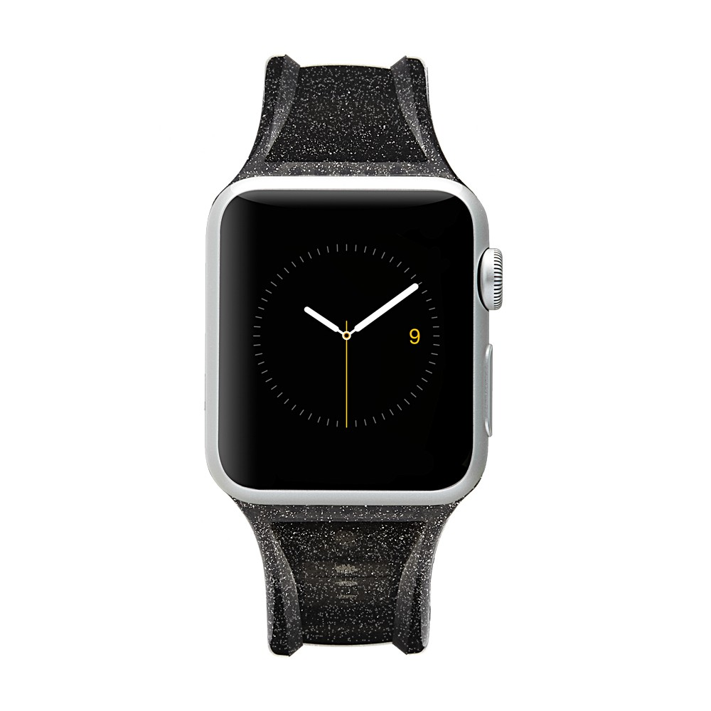 Case-Mate Sheer Glam Apple Watch Band 38mm - Black Case-Mate Sheer Glam Apple Watch Band 38mm - Black Gender: unisex.