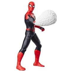 "Marvel Spider-Man: Far From Home Web Punch Spider-Man 6"" Scale Action Figure Toy"