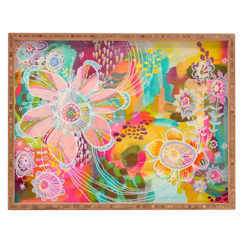 Stephanie Corfee Swoon Rectangle Tray - Pink - Deny Designs® - image 1 of 1