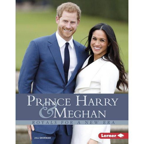 Prince Harry & Meghan - (Gateway Biographies) by  Jill Sherman (Hardcover) - image 1 of 1