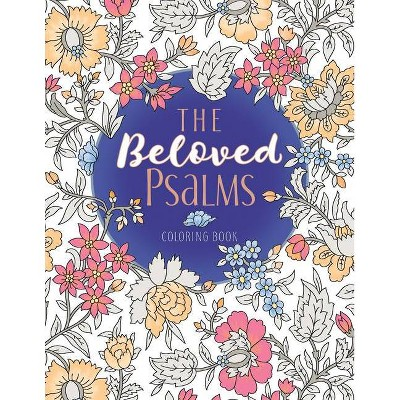 The Beloved Psalms Coloring Book - (Majestic Expressions) (Paperback)
