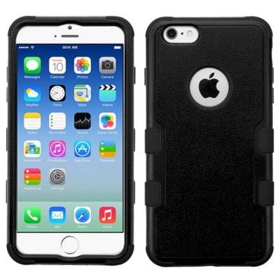 MYBAT For Apple iPhone Tuff Hard Silicone Hybrid Rubber Case