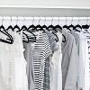 Honey-Can-Do Velvet Touch Suit Hanger - 50-Pack - Black - image 2 of 3