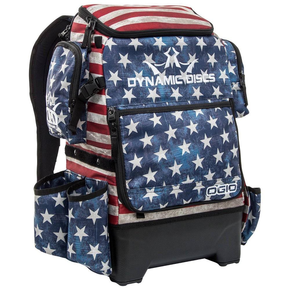 Dynamic Discs Ranger H2O Disc Golf Bag - Stars And Stripes, Blue