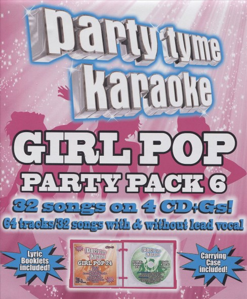 Party Tyme Karaoke: Girl Pop Party Pack 6 - image 1 of 1