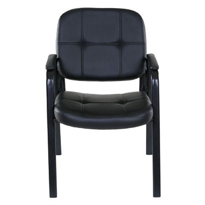 Basics Guest Reception Chair Black - OneSpace