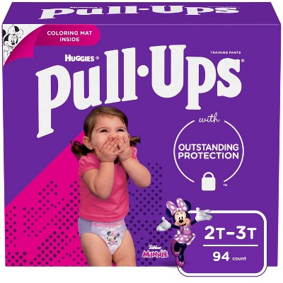 Huggies Pull Ups Disposable Training Pants - 2T-3T (94ct)