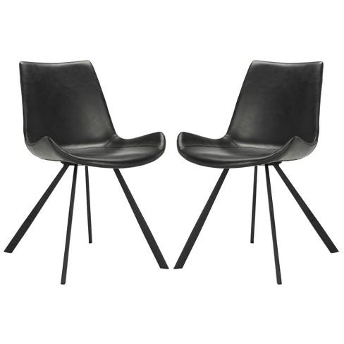 Phenomenal Set Of 2 Terra Midcentury Modern Dining Chair Safavieh Creativecarmelina Interior Chair Design Creativecarmelinacom