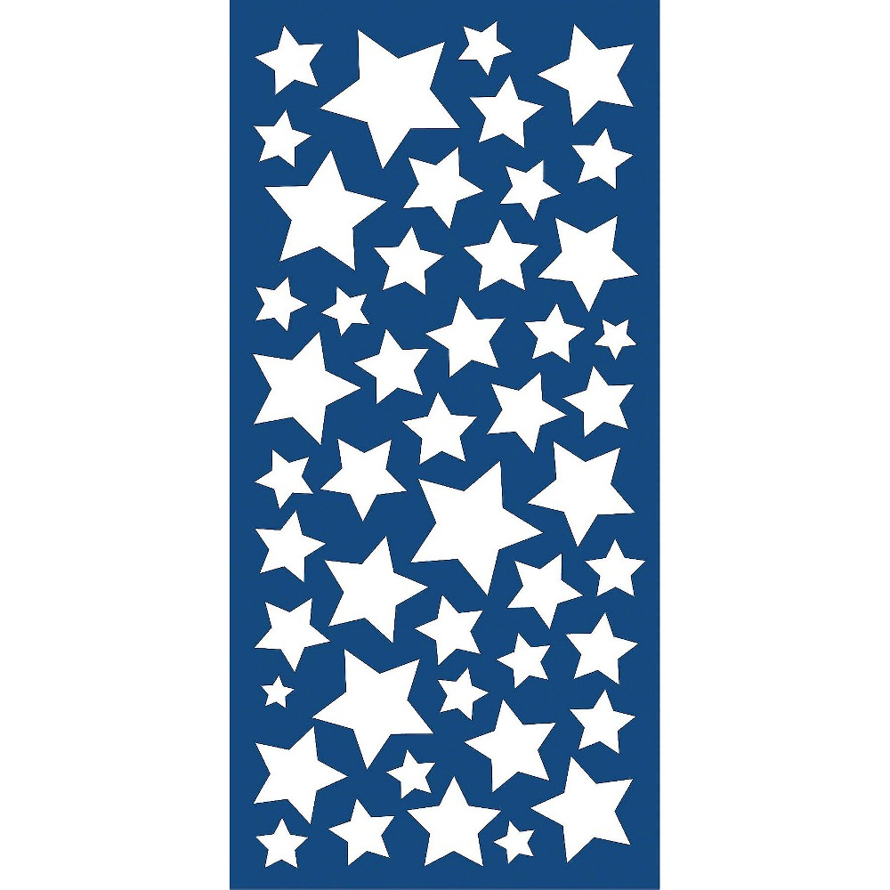 Image of WallPops!Glow in the Dark Stars Decals - Ivory, Multi-Colored