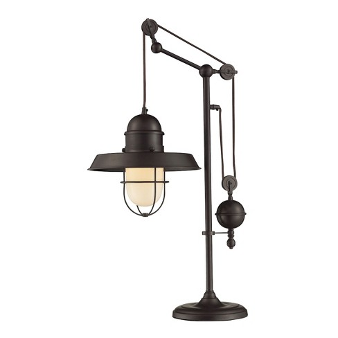Farmhouse Table Lamp Oiled Bronze (Includes Energy Efficient Light Bulb) - Dimond Lighting - image 1 of 1