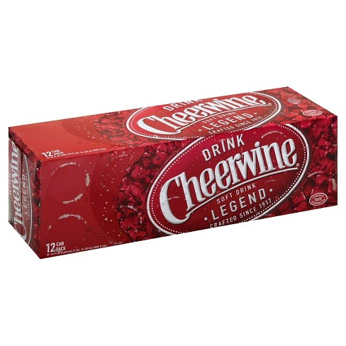 Cheerwine - 12pk/12 fl oz Cans - image 1 of 1