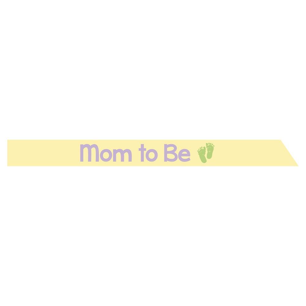 Image of Satin Mom to Be Sash, each