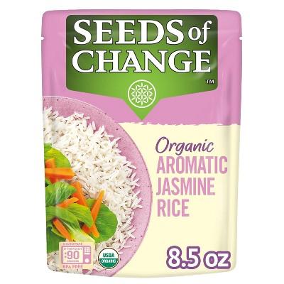 Seeds of Change Organic Jasmine Rice Microwavable Pouch - 8.5oz