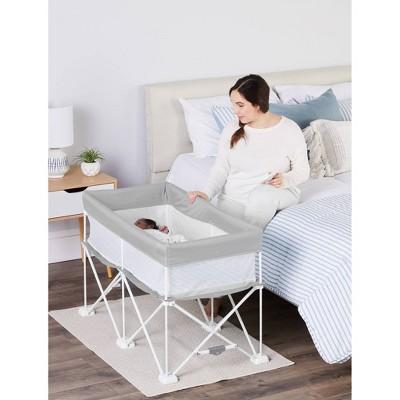 Regalo My Crib Portable Infant Bassinet - Gray