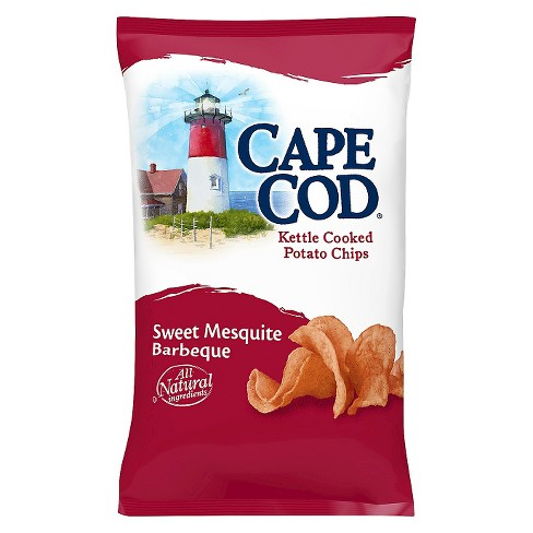 Cape Cod Sweet Mesquite BBQ Flavored Kettle Cooked Potato Chips - 8oz - image 1 of 1