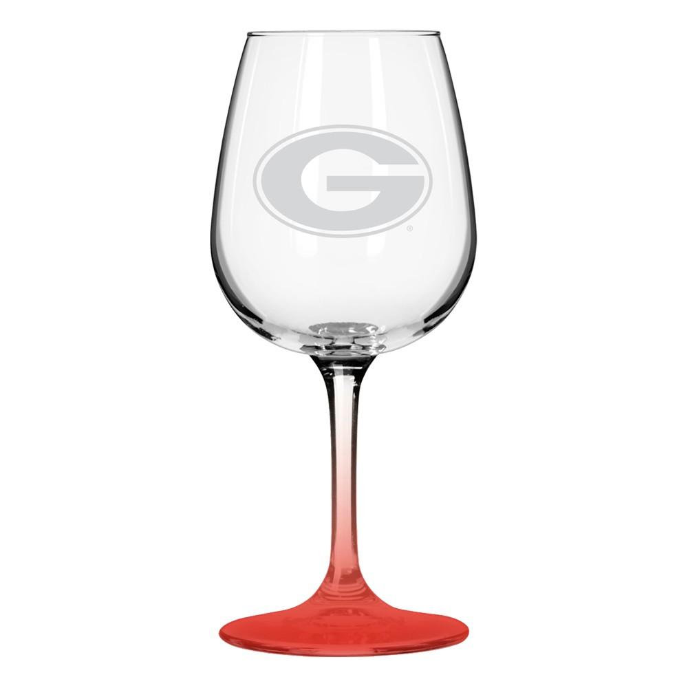 NCAA Georgia Bulldogs Boxed Wine Glass
