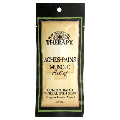 Village Naturals Therapy™ Mineral Bath Soak for Aches and Pains - Eucalyptus and Menthol - image 1 of 2