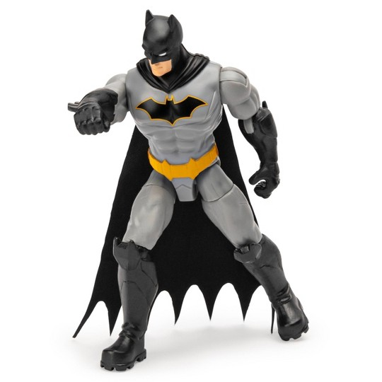 "Batman Rebirth Batman 4"" Action Figure with 3 Mystery Accessories, Mission 1 image number null"