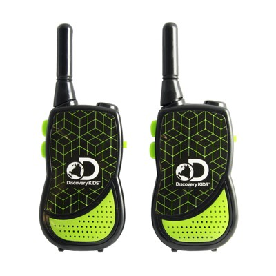 Discovery Kids for Girls Night Action 2-in-1 Walkie Talkie with Built In Flashlight