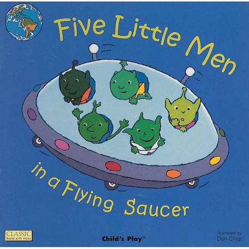 Five Little Men in a Flying Saucer - (Classic Books with Holes Big Book) (Paperback) - image 1 of 1