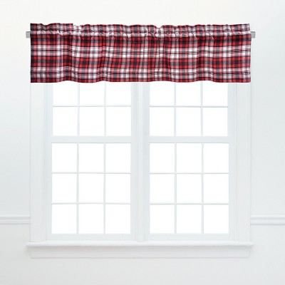C&F Home Fireside Plaid Cotton Valance Window Treatment